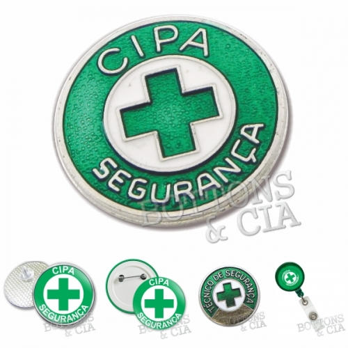 Pin personalizado, Bottom personalizado - Botton Cipa
