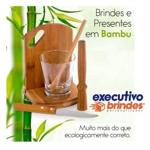 BRINDES E PRESENTES EM BAMBU
