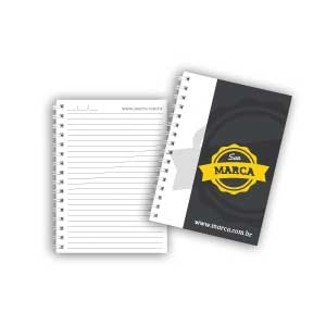 Cadernos personalizados, caderno customizados, capas de cadernos personalizadas - Caderno Personalizado