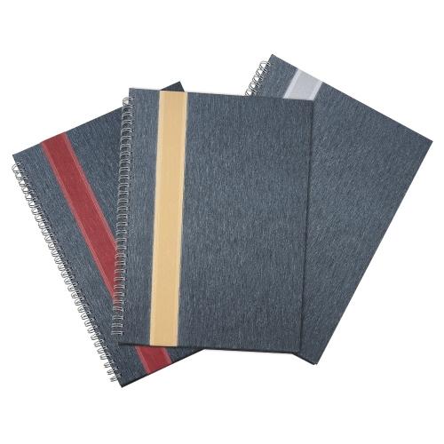 Cadernos personalizados, caderno customizados, capas de cadernos personalizadas - Caderno Grande com Faixa personalizado