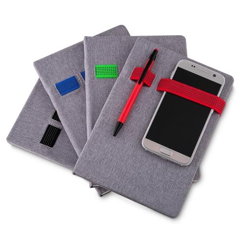 Cadernos personalizados, caderno customizados, capas de cadernos personalizadas - Caderno Porta Celular e Caneta