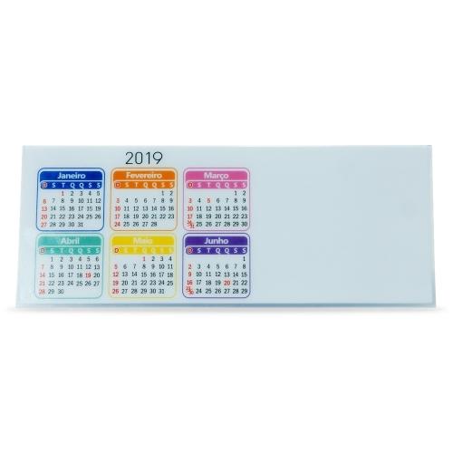 - Calendário Plástico Personalizado