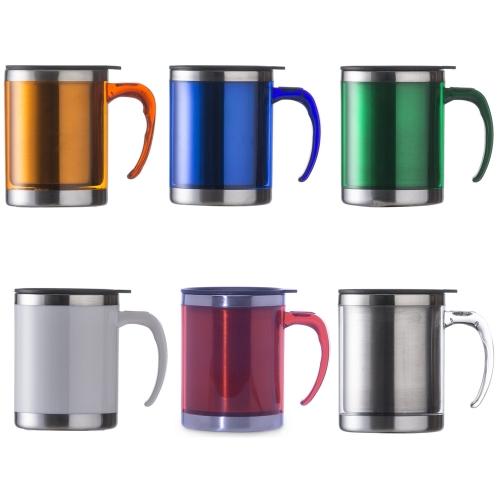 Copos personalizado, Canecas personalizada, Long drink personalizado - CANECA ACRÍLICA 400 ML COM TAMPA
