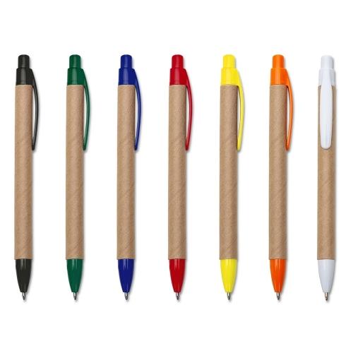 Canetas personalizadas, lapiseiras personalizadas e lápis personalizado - Caneta Ecológica de Papelão