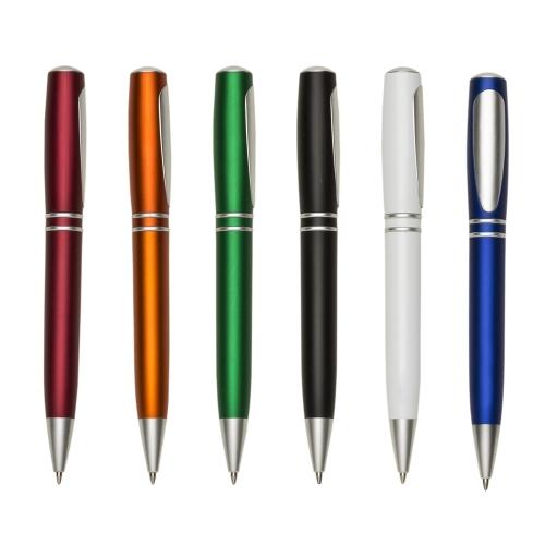 Canetas personalizadas, lapiseiras personalizadas e lápis personalizado - Caneta Plástica