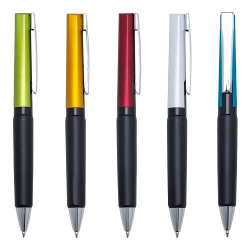 caneta personalizada - Caneta Plástica 13782