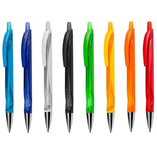 caneta personalizada - Caneta Plástica - 13781B