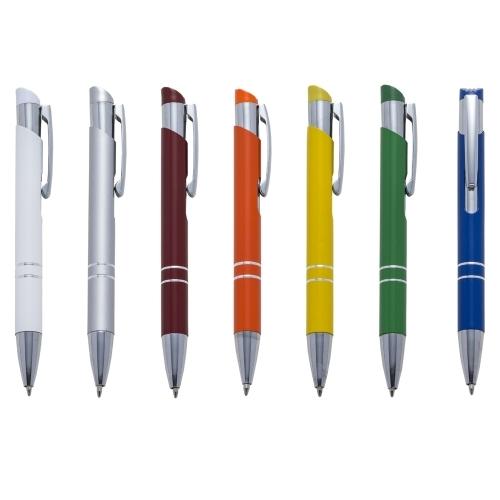 Canetas personalizadas, lapiseiras personalizadas e lápis personalizado - Caneta Semi Metal