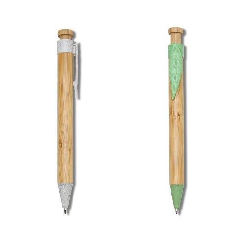 caneta personalizada - Caneta Bambu