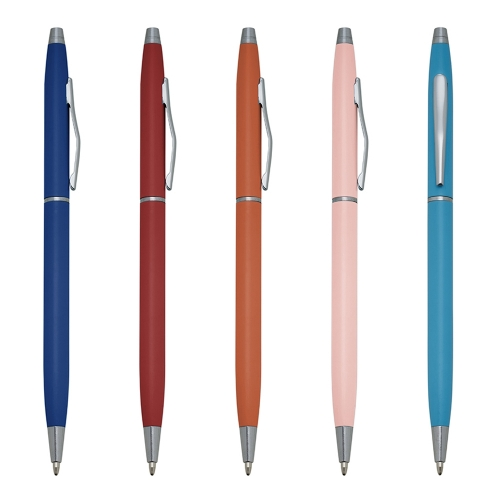 caneta personalizada - Caneta Semimetal - A1807B