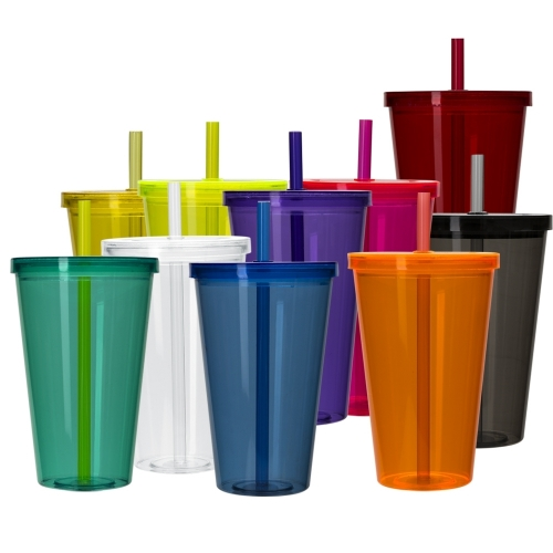 Copos personalizado, Canecas personalizada, Long drink personalizado -  Copo Plástico 1 Litro com Tampa