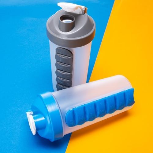 Copos personalizado, Canecas personalizada, Long drink personalizado - Coqueteleira 750ml com Porta Comprimido
