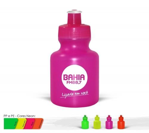 Squeeze - Squeeze 300ml Resistente e Flexível com Bico de PVC Cristal
