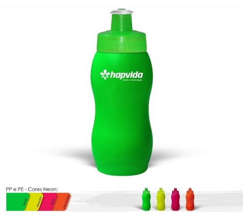 Squeeze - Squeeze 250ml Resistente e Flexível com Bico de PVC Cristal