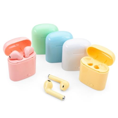 Fone de ouvido personalizado - Fone de Ouvido Bluetooth com Case Carregador