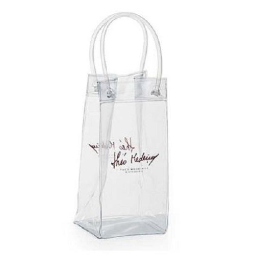 - Ice bag em PVC cristal