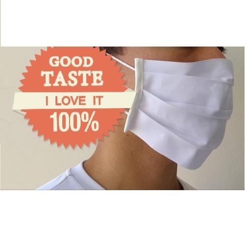 - mascara de tecido lavavel