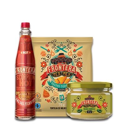 Kit Mexicano com Pimenta e Aperitivos