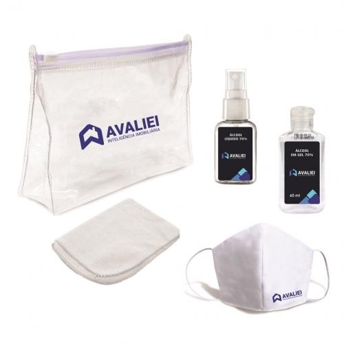 - Kit Higiene para Prevenção da Covid-19
