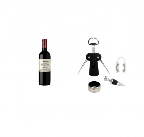 - Kit Luxo e Vinho Tarapacá Cosecha Cabernet Sauvignon 2019