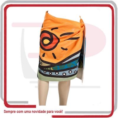 - Canga Toalha de Praia c/ Imagem Total 1,40x0,75.