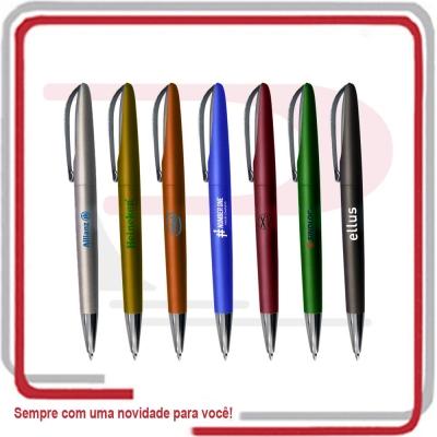 Caneta Espero Modelo Rio Clip Metal