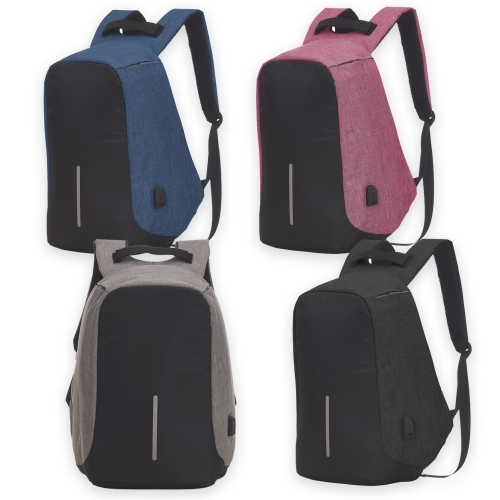 - Mochila Anti-Furto USB