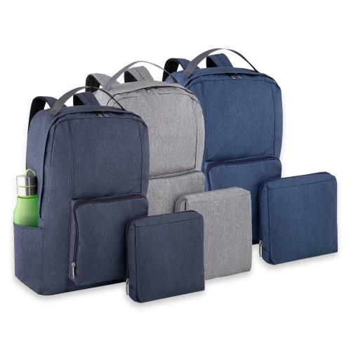 Mochilas personalizadas, mochilas femininas, mochila masculina, mochila para notebook   - Mochila Dobrável de Poliéster