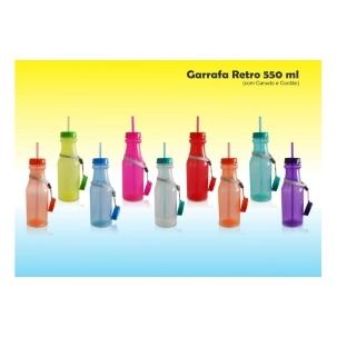 Copos personalizado, Canecas personalizada, Long drink personalizado - Garrafa Retro 550 ml