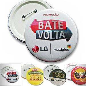 Pin personalizado, Bottom personalizado - Botton Americano.
