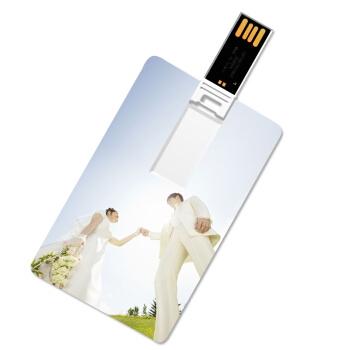 Pen drive personalizado, pen card personalizado - Pen drive Cartão Personalizado 4GB