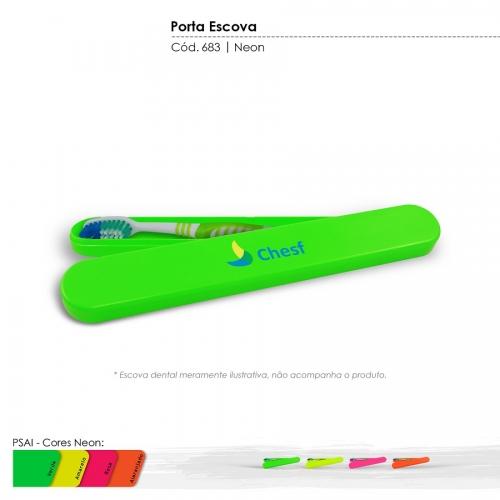 Porta Escova Dental Neon