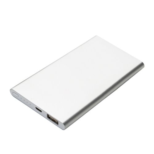 power bank personalizado - Power bank Metal com Indicador Led 2.800 mAH - 2019