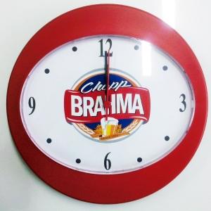 - Relógio de Parede Oval 2