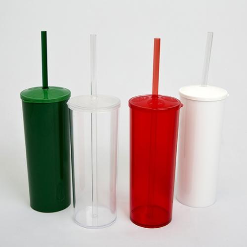 Copos personalizado, Canecas personalizada, Long drink personalizado - Copo Long Drink 350 ml com tampa e canudo