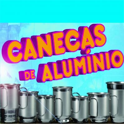 Caneca em Aluminio Logo colorida