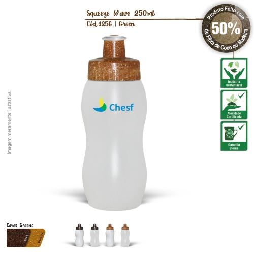 Copos personalizado, Canecas personalizada, Long drink personalizado - Squeeze Ecológico 250ml Resistente e Flexível com Bico de PVC Cristal