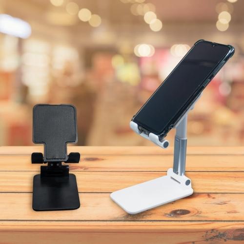 - Suporte Retrátil para Celular e Tablet