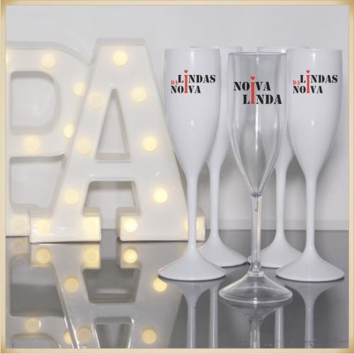 - Taça Personalizada para festa de despedida de solteiro madrinhas noivas
