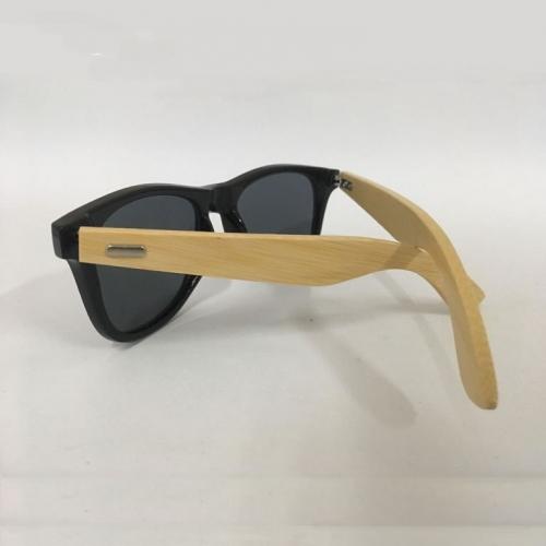 Óculos de sol haste bambu