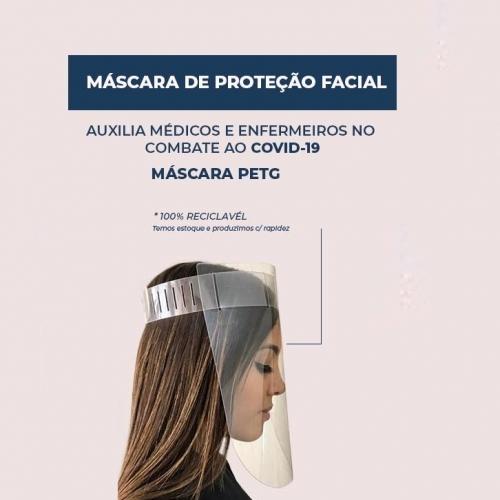 Máscara PETG