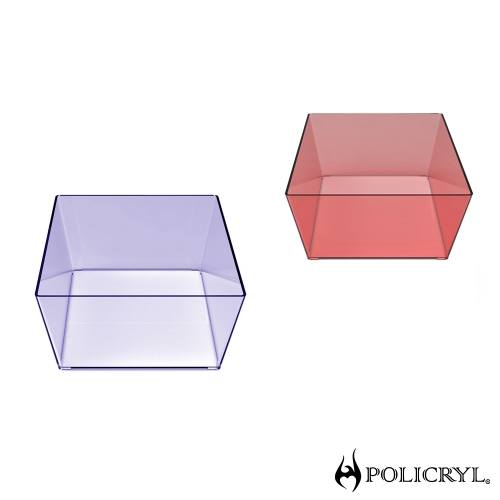 Embalagens personalizadas, embalagens descartáveis, embalagens-para-presente-atacado - Cesta Multiuso 3 LItros cristal