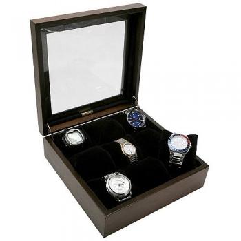 - Caixa Estojo para Relógios 9 Casulos