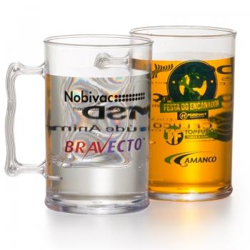 Copos personalizado, Canecas personalizada, Long drink personalizado - CANECA DE CHOPP 350ML