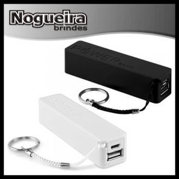 Brindes eletrônicos personalizados - Carregador Portátil de Celular