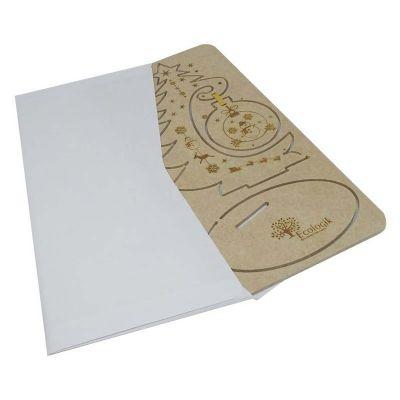 - Cartão Postal de Natal 3D - modelo Guirlanda