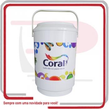 - Cooler Isotérmico Mini p/ 6 Latas