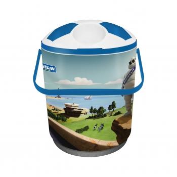 - Cooler para 12 latas azul