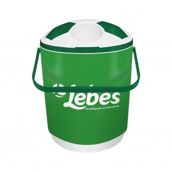 Cooler para 12 latas verde