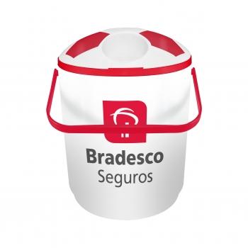 - Cooler para 12 latas vermelho